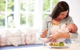 Список продуктов, которые можно кушать кормящей матери после кесарева сечения