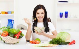 Какие салаты можно есть кормящим мамам?