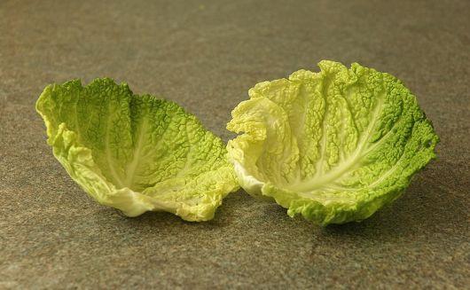 Применение капустного листа при лактостазе