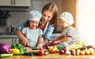 Разрешенные овощи и фрукты во время кормления
