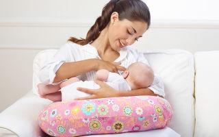 Выбор подушки для кормления