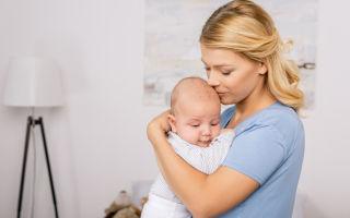 Правила ношения новорожденного столбиком после кормления