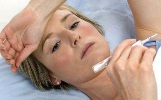 Что делать, если повышается температура при лактостазе?