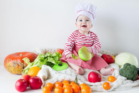 Питание ребенка в 9 месяцев: примерное меню, рацион, режим