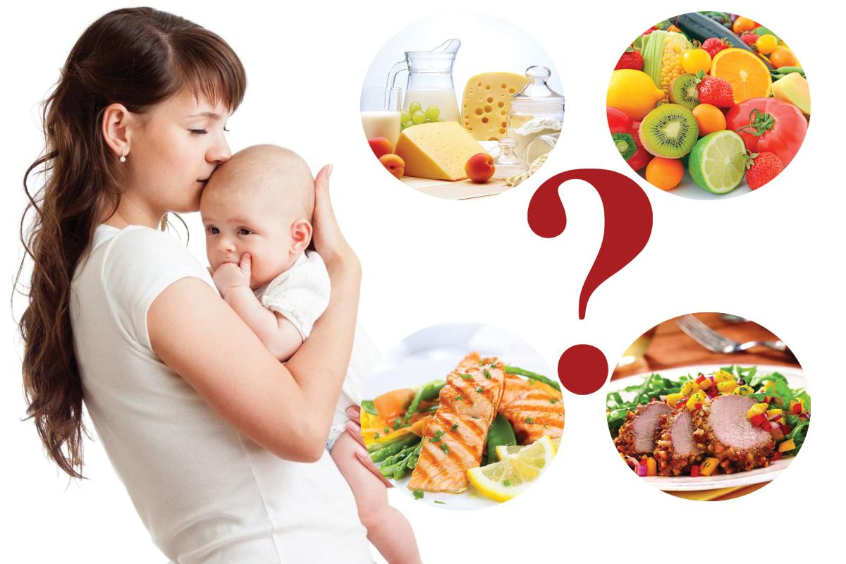 Диета Кормящая Мать. 10 правил питания кормящей мамы