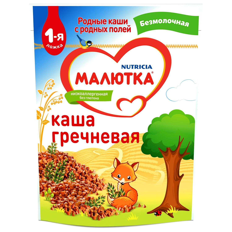 каша для прикорма Малютка