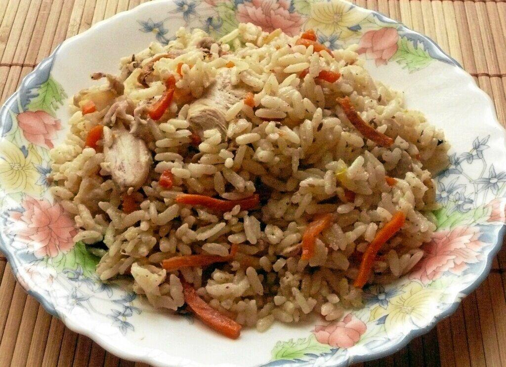 Вкусный рис на диете
