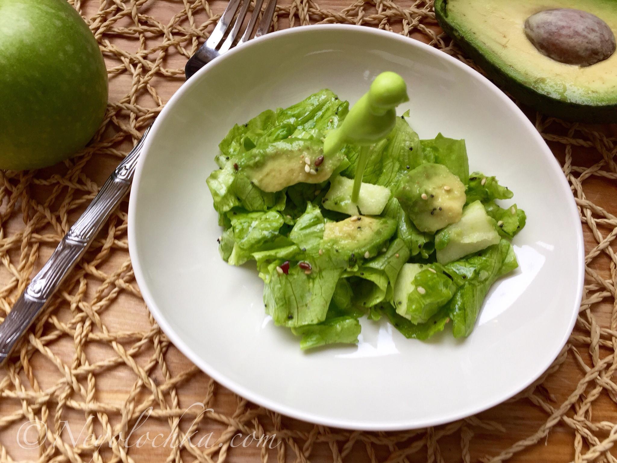 Рецепты с зеленым салатом для кормящих мам