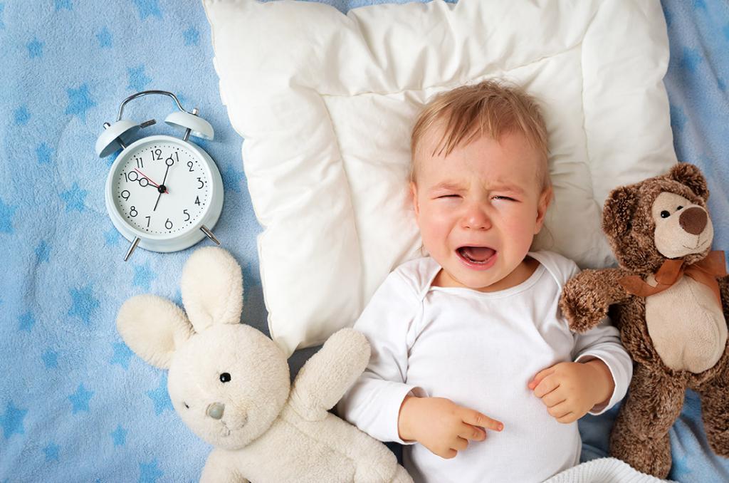 грудничок не спит ночью