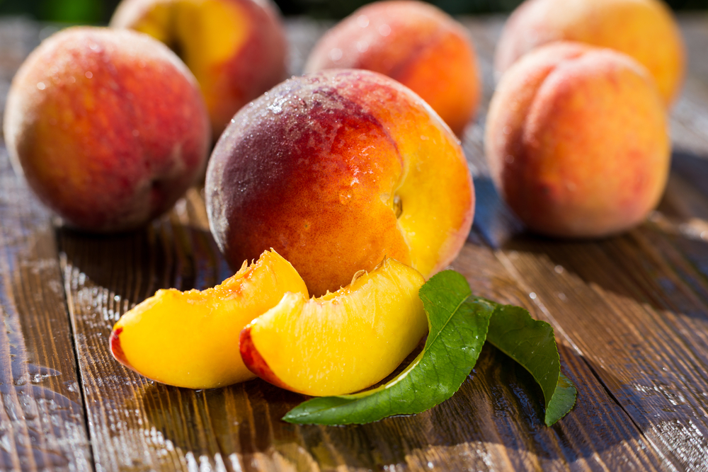 персики при гв